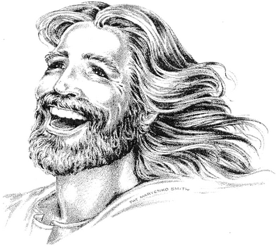 Jesus-Laughing
